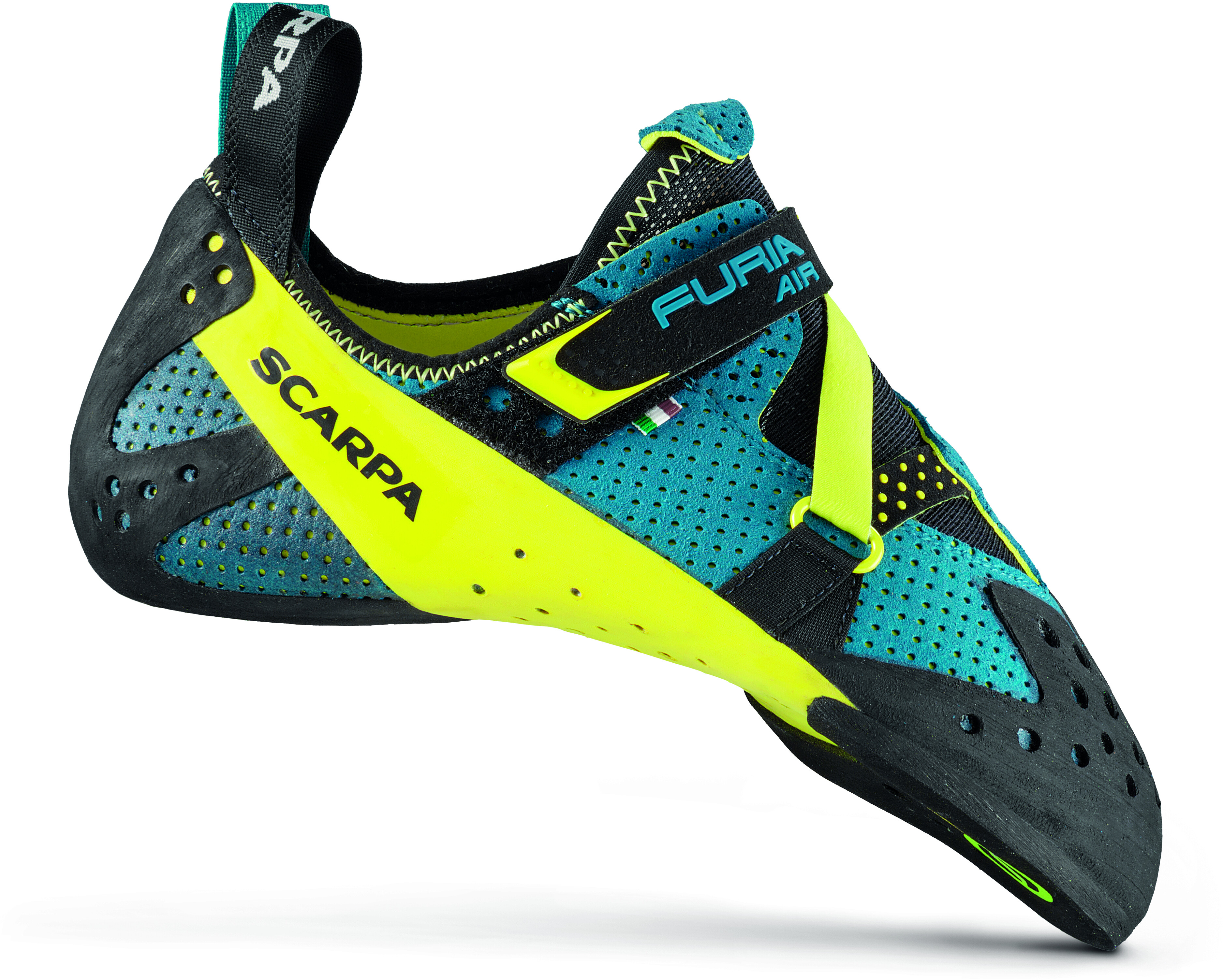 Scarpa Furia Air Buty Wspinaczkowe Baltic Blue Yellow Sklep Addnature Pl